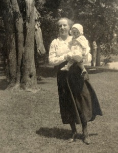 Albie with Barbara 1919