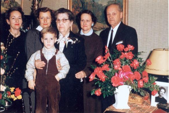 harriet barb jim edith norris helen roy 1957