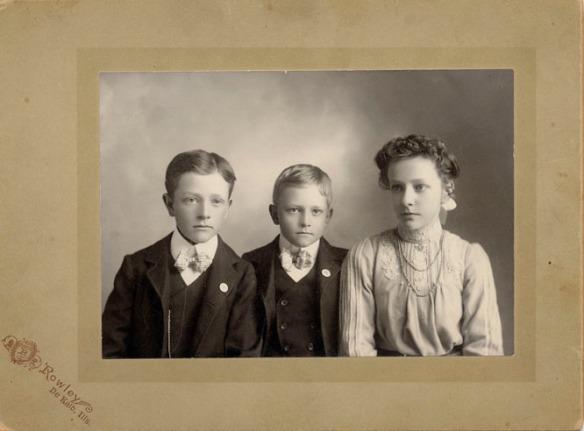 Eber, Milo, Albie Oakland