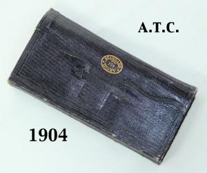 atc 1904 diary closed