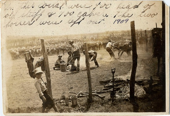 1909 postcard photo from texas