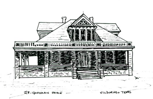 goodman house drawn