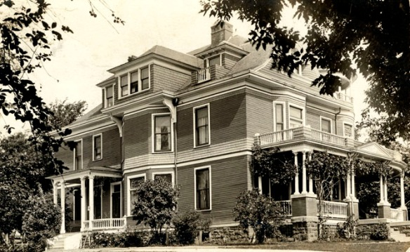 Bressler home, Wayne, Nebraska, about 1916.