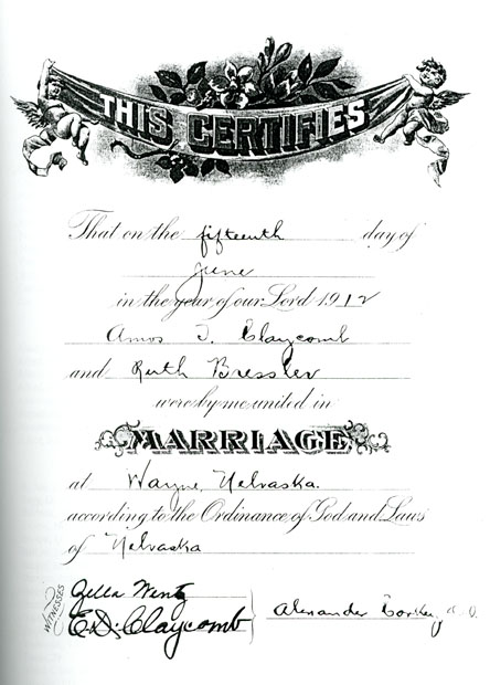1912 ATC RB marriage