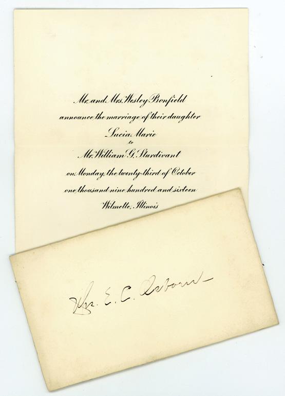 benfield sturdivant announcement 1916 env