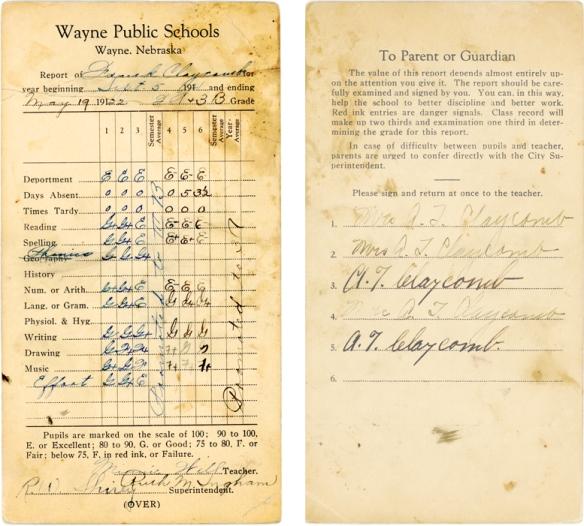 FEC 1921 school
