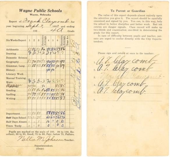FEC 1923 school