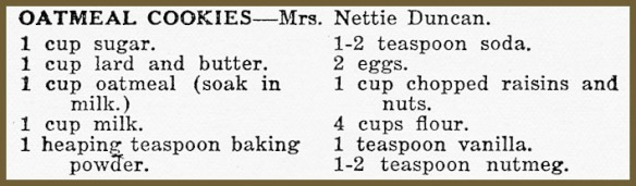 netties oatmeal cookie recipe