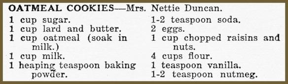 netties oatmeal cookie recipe