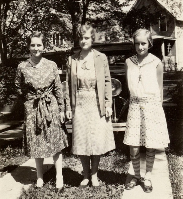 Harriet, Helen, and Barbara Duncan.
