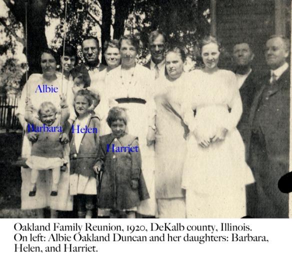 oakland reunion 1920