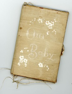 our baby book cover