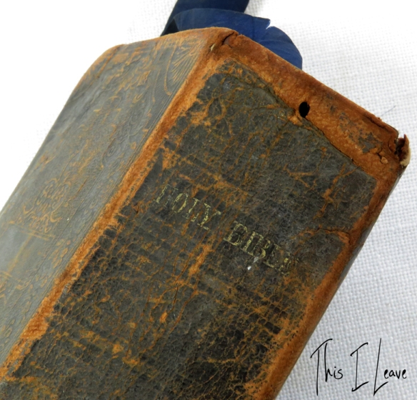 tcd bible spine