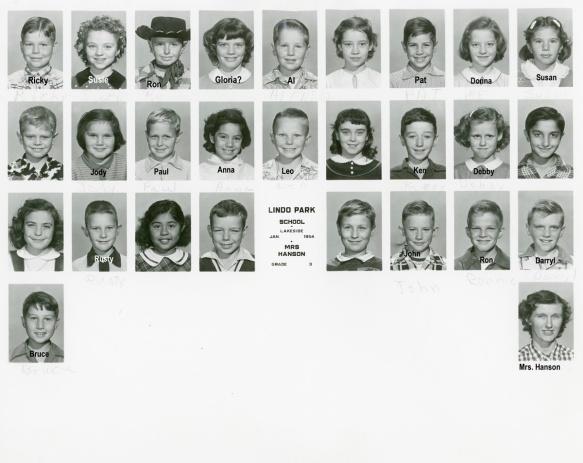 3rd grade Hanson 1