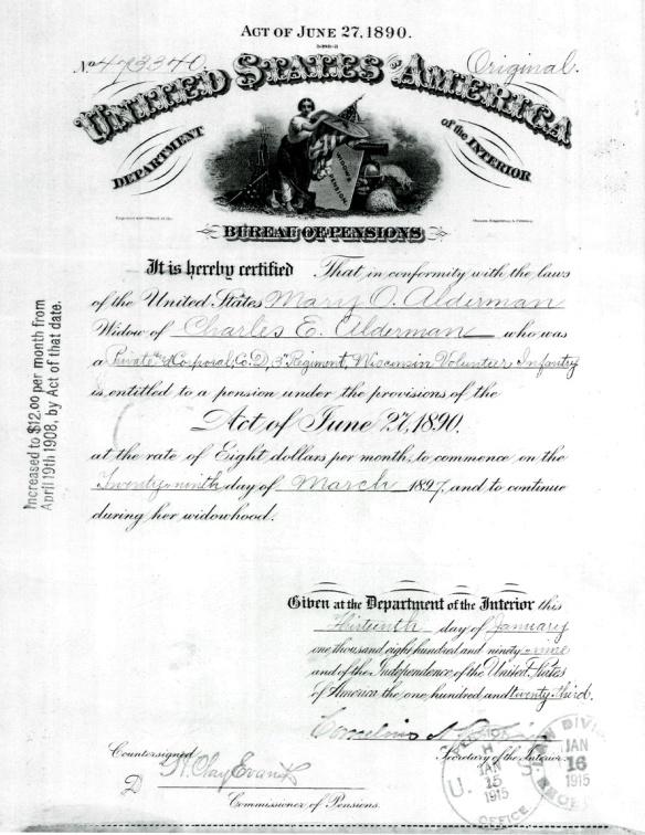4. marys widow pension