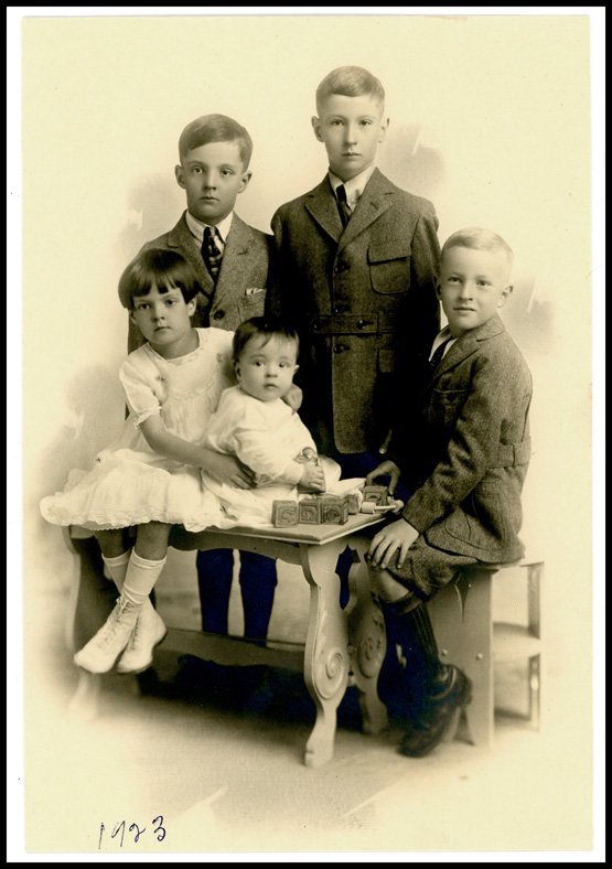 1923 claycomb children