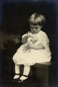 HDC with doll 1 abt 1917