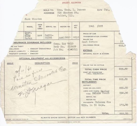 Roy Duncan 1939 chevrolet