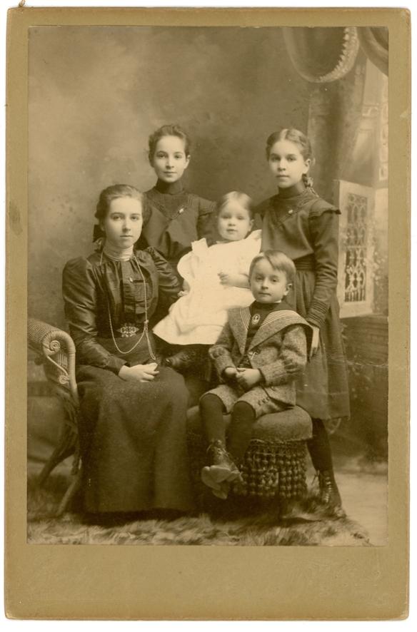 Bresslers Maud Ruth Kate John Dorothy 1898