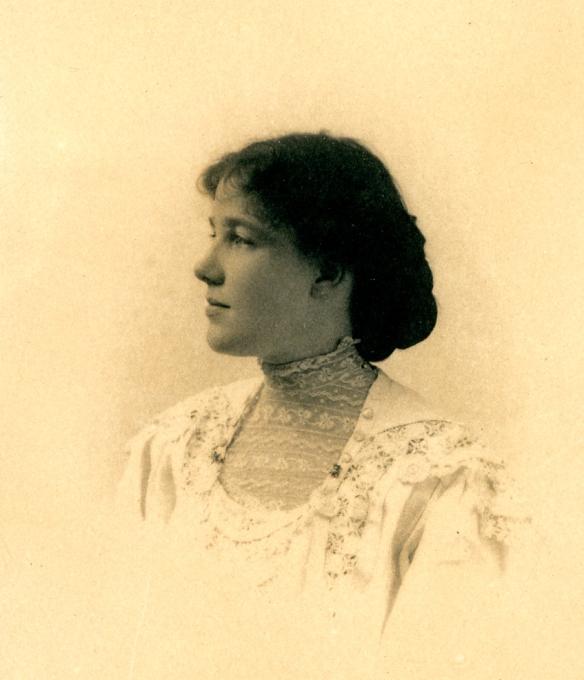 Edith Moses Chubb, 1904.